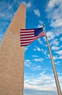 Washington monument nuvole Foto Gratuite