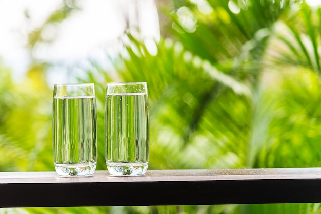 Water glass outdoor Free Photo