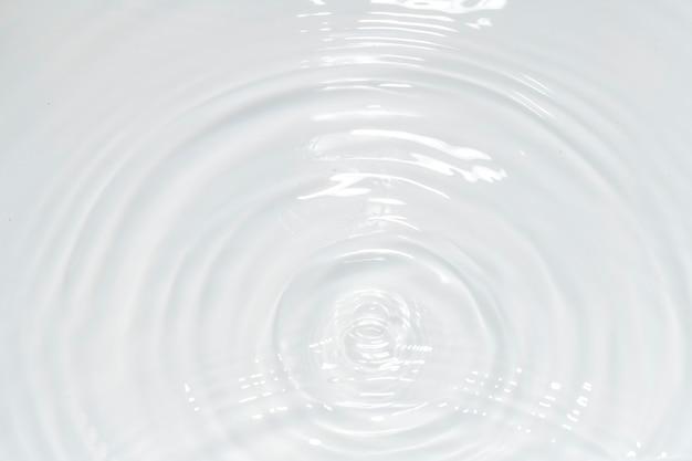 水の波紋テクスチャ壁紙 無料写真