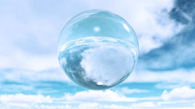 Water sphere Free Photo
