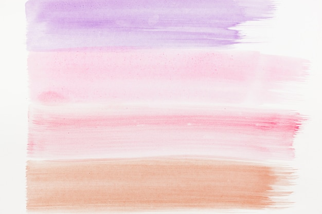 Watercolor abstract brush strokes background Free Photo