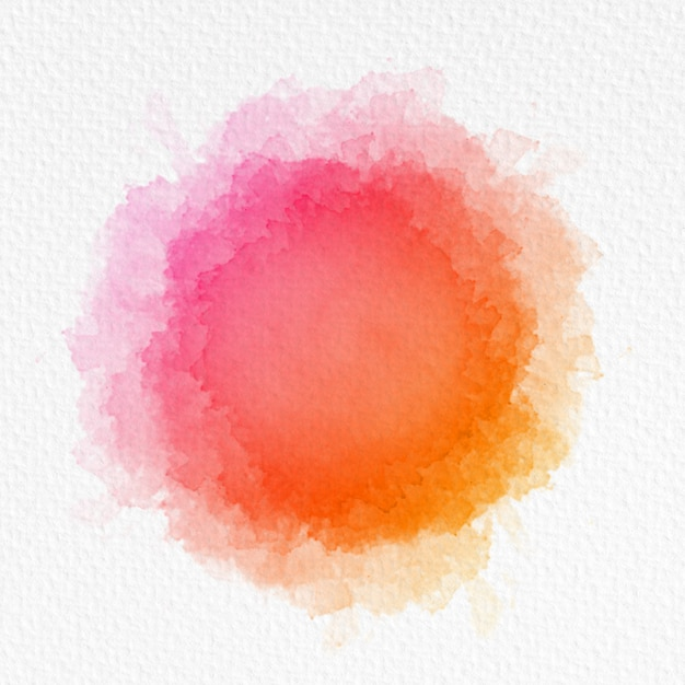 Watercolor background on textured paper Free Photo
