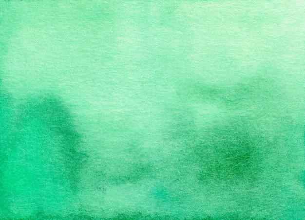 水彩の穏やかな緑のオンブル背景テクスチャ Premium写真