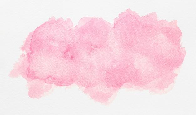 수채화 복사 공간 라이트 핑크 페인트 무료 사진