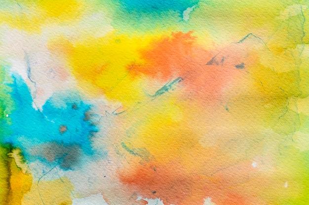 水彩グラデーション色の背景 無料写真