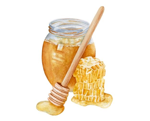 9 Watercolor Honey Pot FLOOR