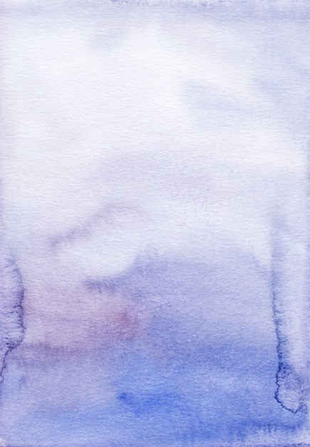 Watercolor royal purple ombre background hand painted. Premium Photo