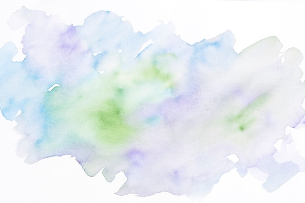 Watercolor stain textured backdrop Free Photo