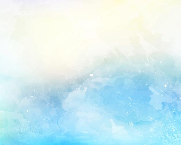 Watercolor texture background Premium Photo