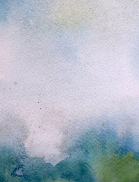 Watercolor on white paper soft abstract background and textured. Premium Photo