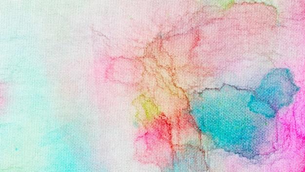 Акварель цветной краской абстрактный фон Бесплатные Фотографии