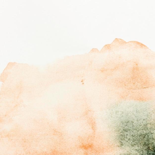 水彩サーモントーンペイント抽象的な背景 無料写真