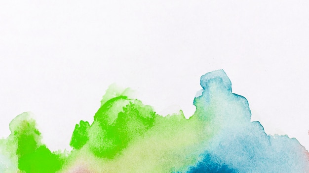 Watercolour stains paint abstract background Free Photo