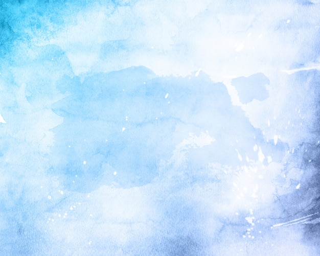 Watercolour texture background Free Photo