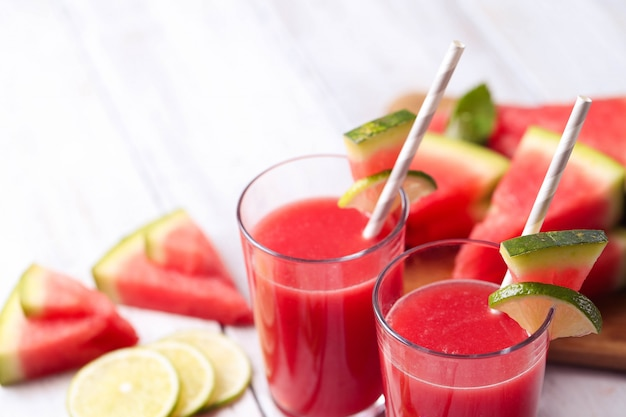 Watermelon smoothie Free Photo