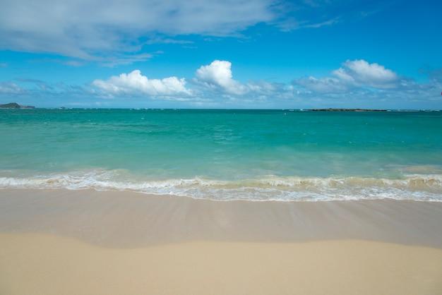Waves On The Beach Kailua Beach Kailua Oahu Hawaii Usa Photo