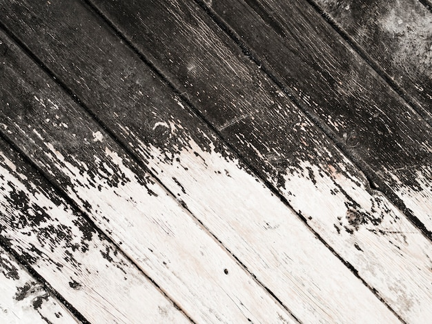 Weathered old wooden plank background Free Photo