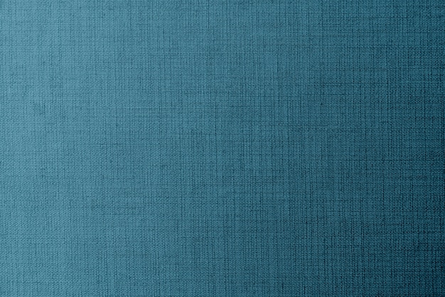 Weaved blue linen fabric Free Photo