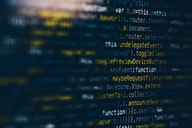 Webdesign html phpソースコード Premium写真