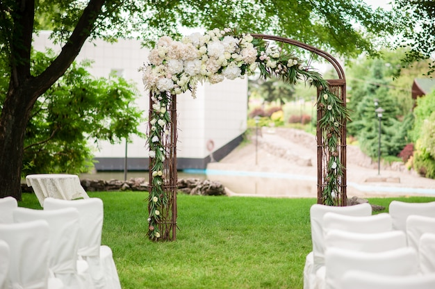 Wedding arch Premium Photo