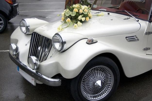 Wedding car Premium Photo