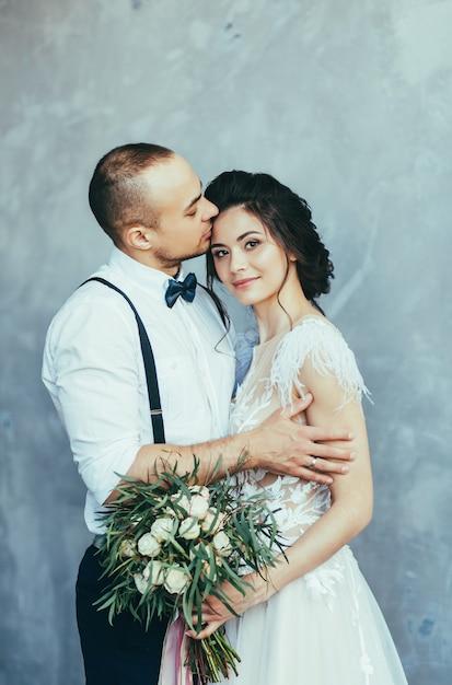 Wedding couple Premium Photo