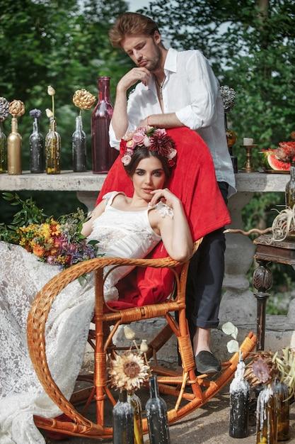 Свадебные украшения в стиле бохо Бесплатные Фотографии