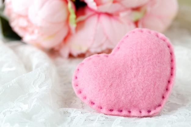 Wedding decoration in pink color Premium Photo