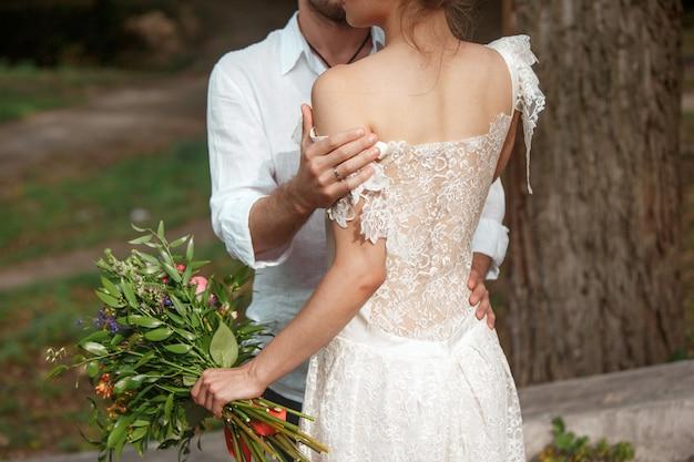 Wedding decoration in the style of boho Free Photo