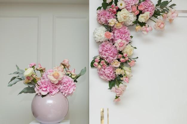 Wedding Decorations Holiday Decoration Vase With Fresh