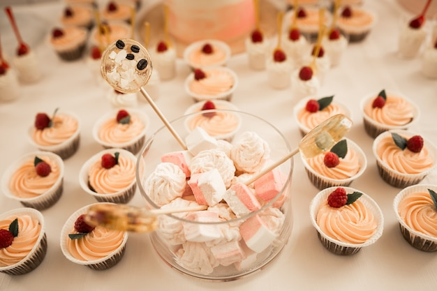 Wedding desserts Premium Photo