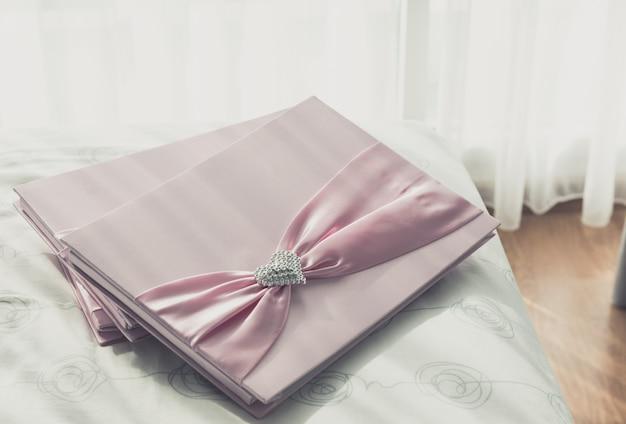 Wedding guestbook Premium Photo