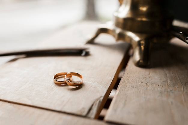 Wedding rings Free Photo