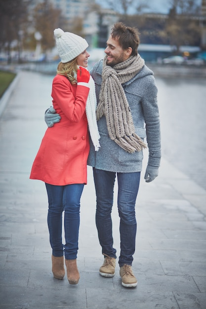 Well Dressed Couple Enjoying Their Date Photo Free Download