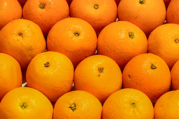 Well ordered oranges Free Photo