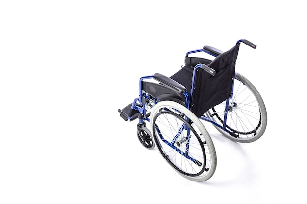 Wheelchair for disabled people Premium Photo