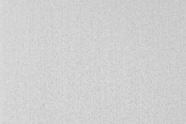 Whit gray fabric canvas texture background Premium Photo