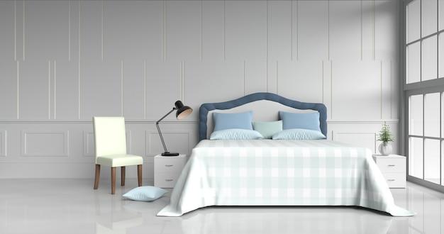 Swell White Bed Room Decor With Pillows Table Light Blue Blanket Spiritservingveterans Wood Chair Design Ideas Spiritservingveteransorg