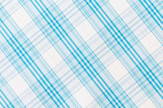 White and blue stripes textured fabric Free Photo