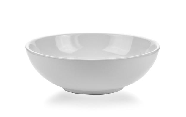 白の白いボウル Premium写真
