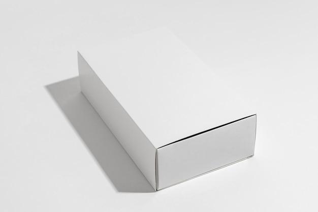 White box of bath bombs on white background Free Photo