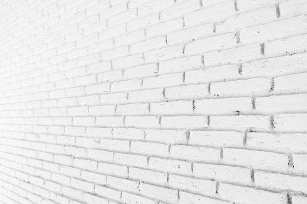 White brick textures for background Free Photo