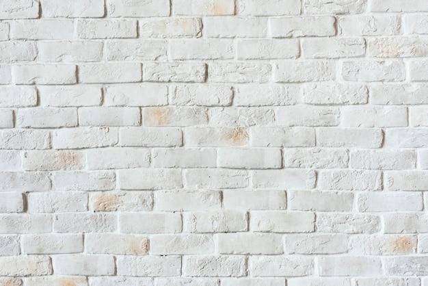 흰색 벽돌 벽 질감 무료 사진