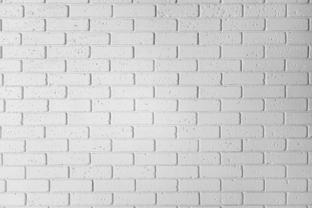 Premium Photo White Brick Wall Wall Horizontal White Textured Wallpaper