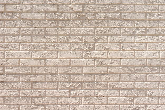 White bricks wall background Free Photo
