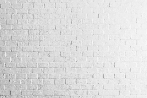 White Bricks Wall Texture Photo Free Download