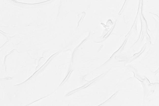 白いブラシペイントテクスチャ背景 無料写真