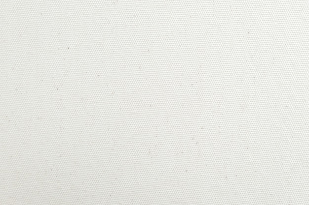 White canvas texture background. close-up. Premium Photo