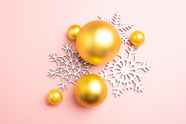 white christmas snowflakes decoration pink background christmas wallpaper 74333 29