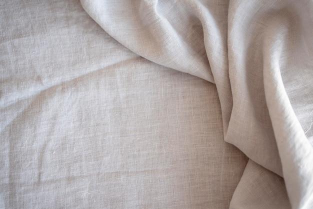 仕立て用の白い布生地 無料写真